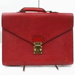 Auth Louis Vuitton Serviette Ambassador #2081L18